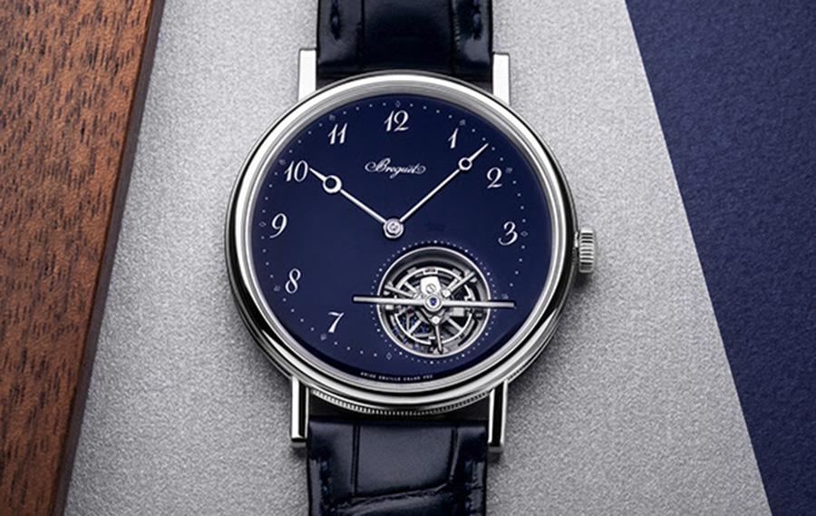 Berguet Classique Tourbillon Extra Plat Automatique Blue