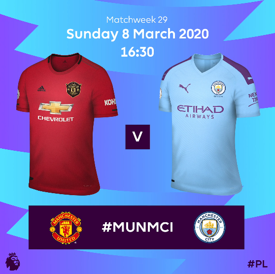 Man Utd vs Man City 5 Points