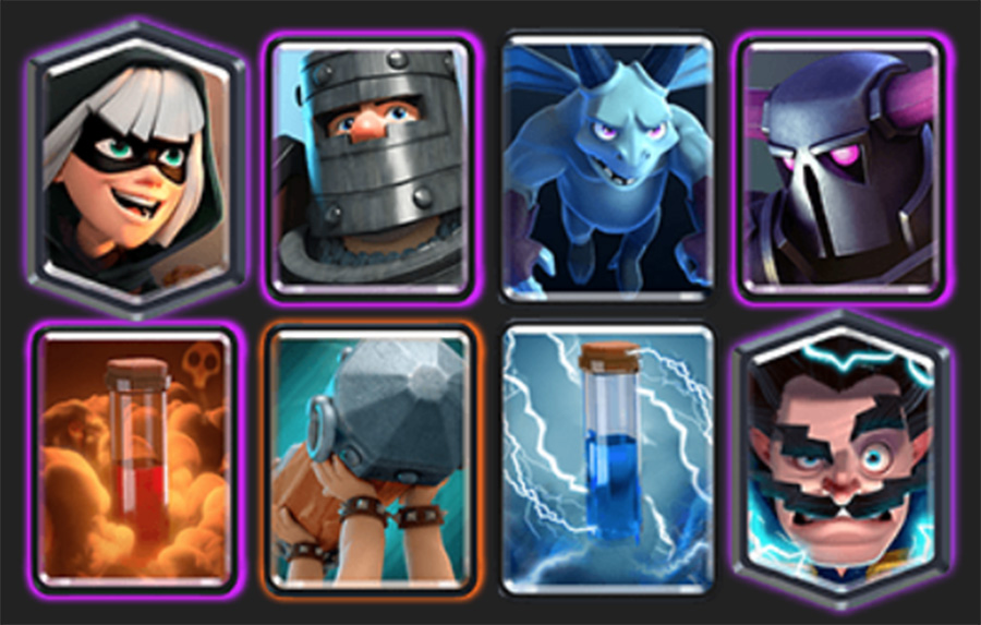 Clash Royale P.E.K.K.A Bridge Spam Deck