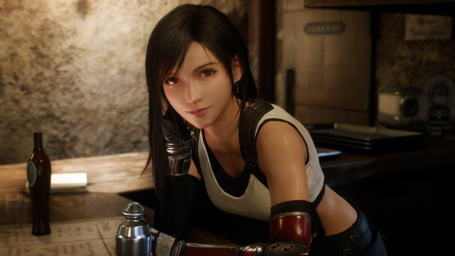 Tifa Lockheart in Final Fantasy VII Remake