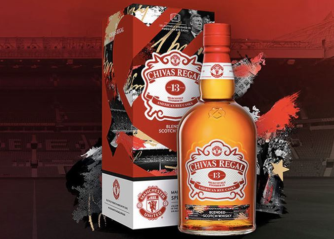 Chivas Launches Manchester United Whisky