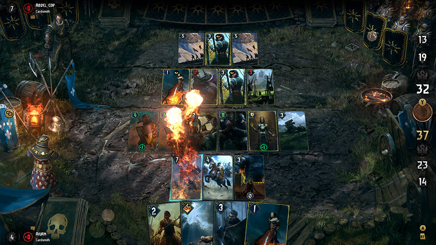 Screenshot from Gwent: The Witcher Card Game