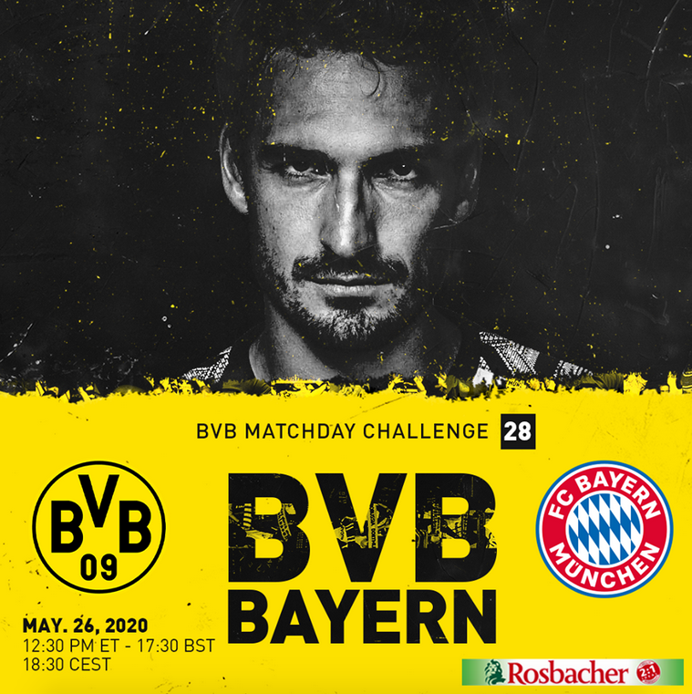 Dortmund vs Bayern 5 Points