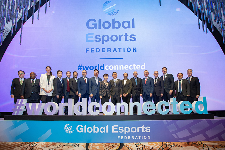 Commonwealth Games Federation and Global Esports Federation partnership